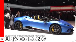 Lamborghini Huracán Performante Spyder Unveiling