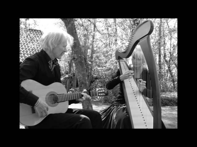 Duo Cortés  harp en gitaar ( harp and guitar ) - Hevo