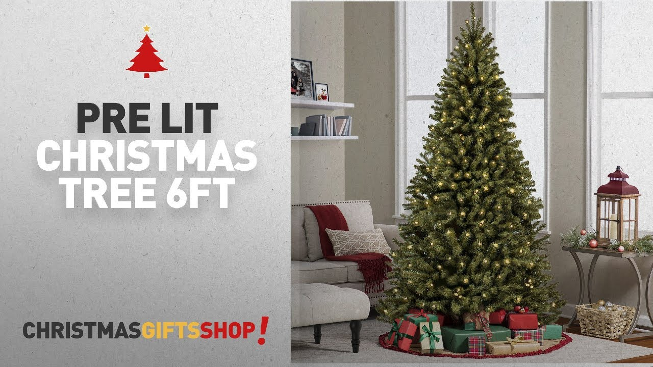 Most Popular Pre Lit Christmas Tree 6Ft: Best Choice