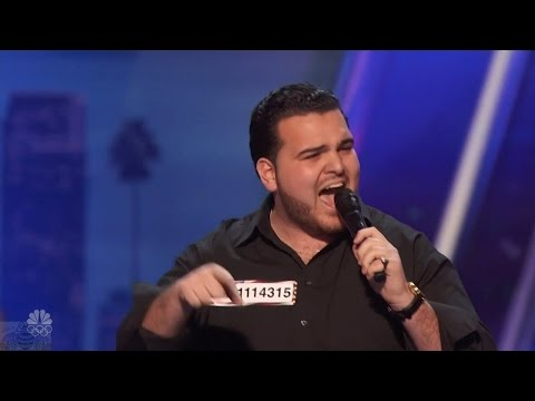 Thumbnail: America's Got Talent 2016 Sal Valentinetti Channels Frank Sinatra Full Audition Clip S11E03
