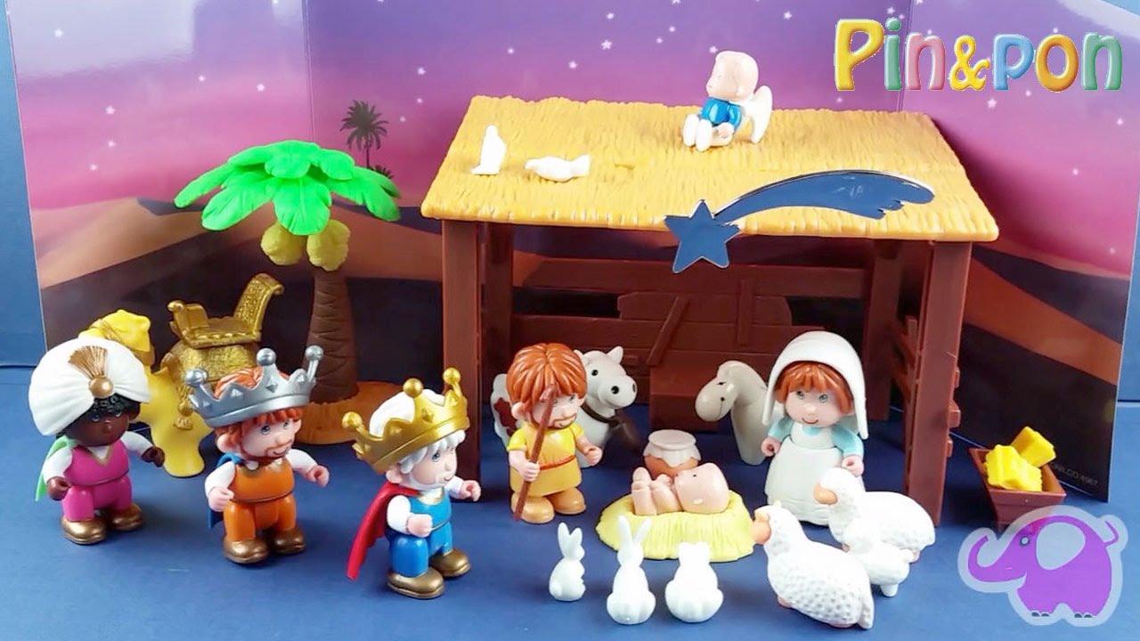 Portal de belen pin y pon nativity scene pin pon youtube - Portal de belen pinypon ...