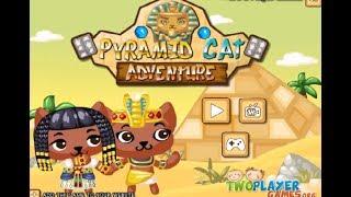 Бродилки кошек по египетским пирамидам. Детская онлайн игра. Детское тв. Kids games.