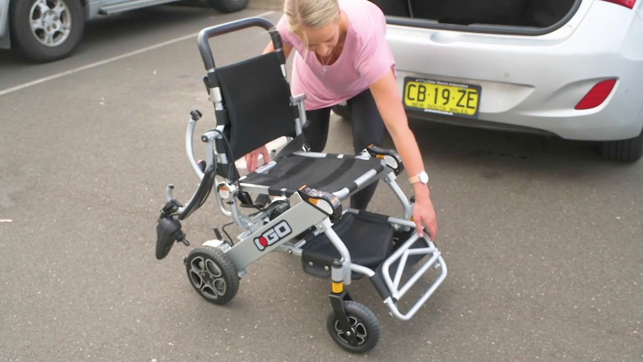 I-Go Folding Electric Lightweight WheelChair