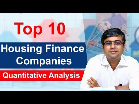 Top 10 Housing Finance Stocks   Quantitative Analysis