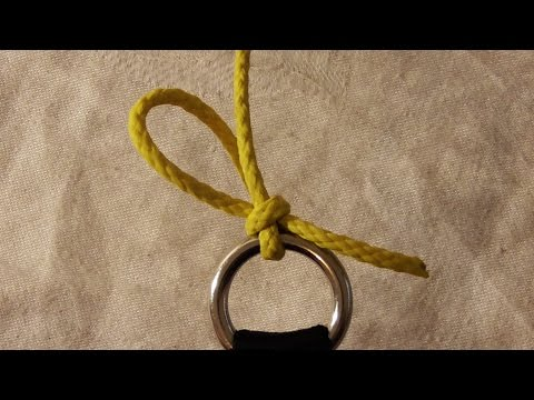 Arborist Knots: Best Throw Line To Throw Bag Attachment