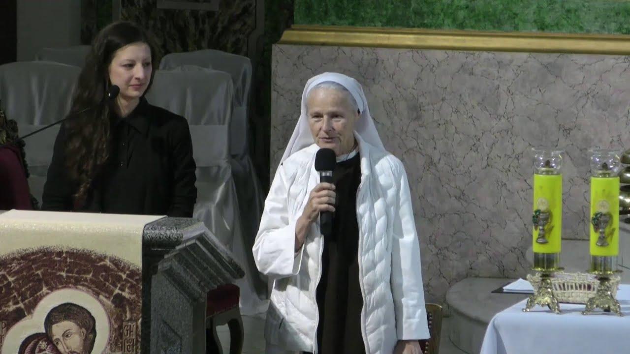 Свідок з Меджуґор'я. Зустріч з с. Емануель в храмі св. Олександра, Київ -  YouTube