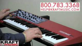 Kraft Music - Nord Lead 2X Synthesizer Demo with Chris Martirano