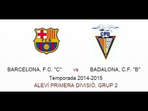 """ALEVIN PRIMERA DIVISION - BARCELONA FC """"C""""  vs  BADALONA CF """"B"""""""