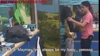 """#MAYWARD:   EDWARD TO MAYMAY """"YOU ALWAYS BE MY BABY"""" KINILITI P SA TAGILIRAN,,  """"BUSHAK"""""""