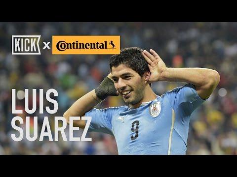 Uruguay Key Players: Luis Suarez and Edinson Cavani
