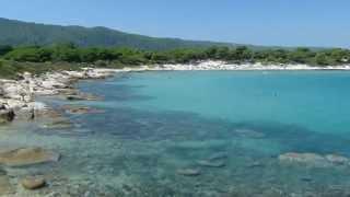 Karidi beach – Vourvourou / Пляж Кариди – Вурвуру. Греция / Халкидики / Ситония 2015.(Кариди – идеальный пляж для семей, похож на бассейн Пляж: мелкий песок Вода: мелькая, спокойная На восточном..., 2015-08-04T19:32:25.000Z)