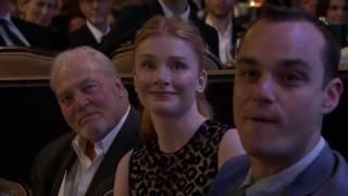 Matthew McConaughey Accept the Ensemble Award - HFA 2016