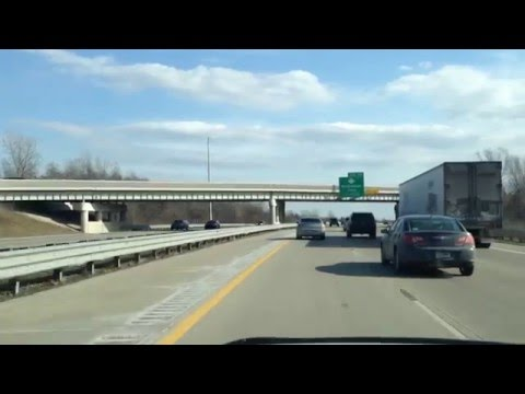 Driving from Waterford, Michigan to Harrison Township, Michigan