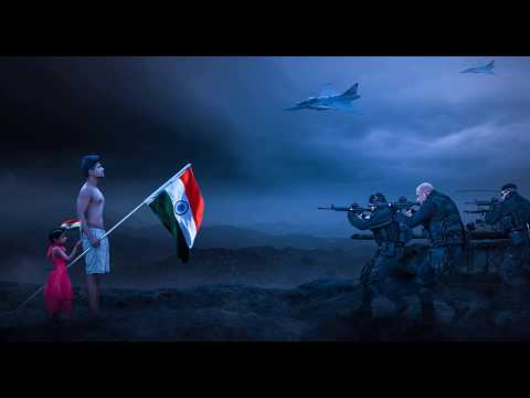 War Zone independence day Phootshop Manipulation || Photoshop Composition tutorial