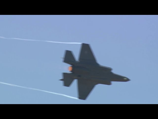 F-35 Aerial Demonstration Debut at 2017 Paris Air Show