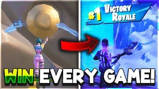This Fortnite Glitch gives you GOD MODE... (Win every game!)