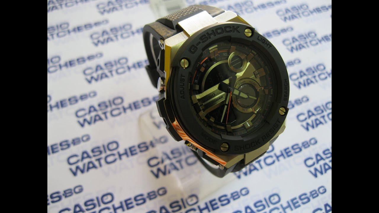Casio G Shock Gst 200cp 9ae Youtube 2a