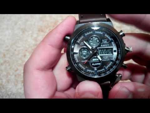 Как настроить часы амст 31003 видео