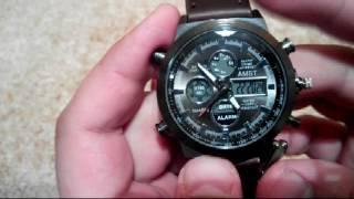 Часы AMST 3003 инструкция по настройке