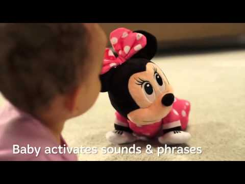 Fisher Price   Disney Baby   Minnie Mouse Musical Touch N Crawl