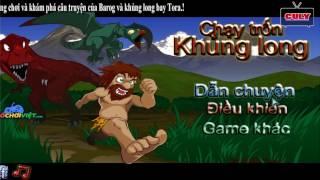 Chơi người rừng chạy trốn khủng long mắc cười - cu lỳ chơi game lồng tiếng vui nhộn