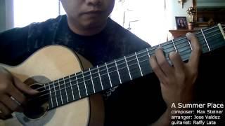 A Summer Place - M. Steiner (arr. Jose Valdez) Solo Classical Guitar