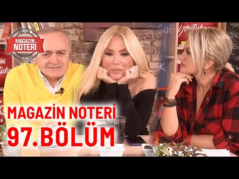 Magazin Noteri 97. Bölüm   Konuk: Lerzan Mutlu 20.02.2020