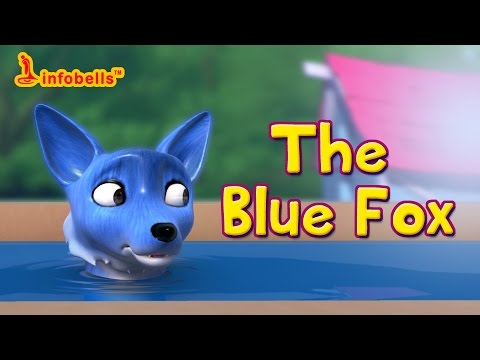 The Blue Fox | Story for Kids | Infobells