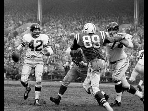 1958 NFL Championship Game Baltimore Colts vs New York Giants @ Yankee Stadium (December 28, 1958)