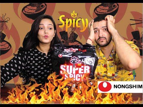 Korean NOODLE Review/Challenge - Nongshim Super Spicy Shin Ramyun