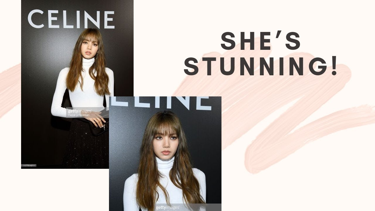 Download BLACKPINK's Lisa Shocked Fans With Her Visual As A IRL Barbie At Celine collection