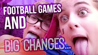 football games new clothes big changes vlog   baby ariel