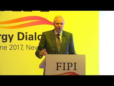 Mr. Bob Dudley, Group Chief Executive, BP p.l.c delivering his speech