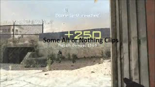 Some All or Nothing Clips