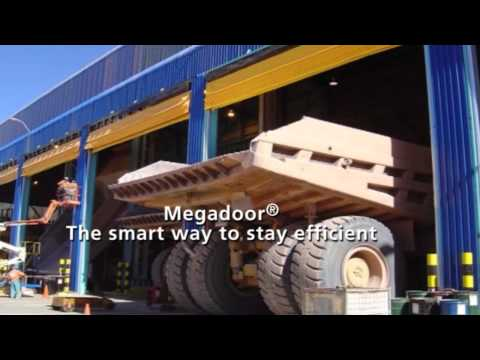 Megadoor for the Mining Industry