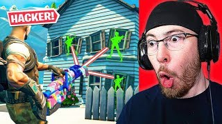 Fortnite Hackers CAUGHT CHEATING!
