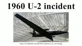 1960 U-2 incident