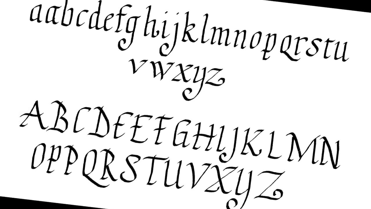 letters in calligraphy best calligraphy letters step by step 896