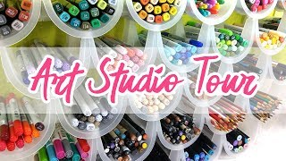 New ART STUDIO | Before and After | Room Tour