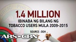 Bandila: Higit 1 milyong Pinoy, hindi na nagyo-yosi ayon sa DOH