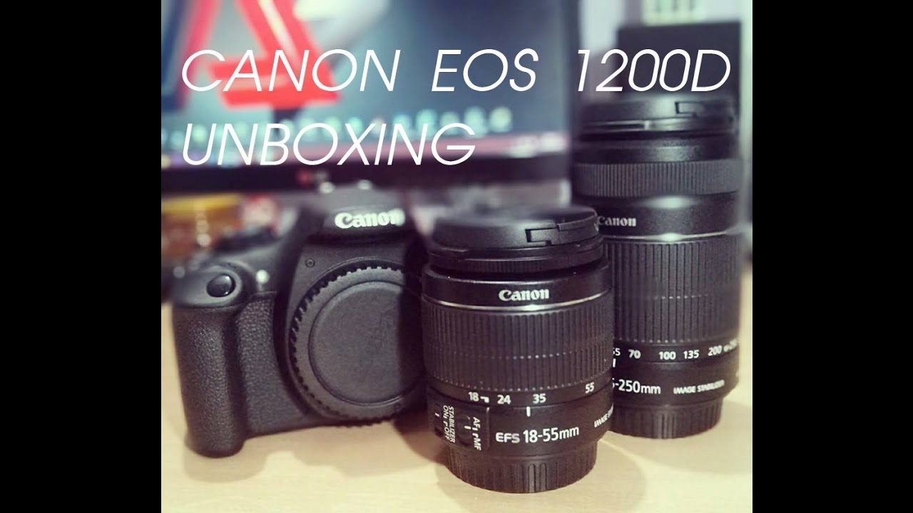 Canon 1200d Unboxing Eos Rebel T5 D1200 Amazon India