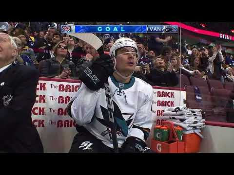 San Jose Sharks vs Vancouver Canucks - March 17, 2018 | Game Highlights | NHL 2017/18