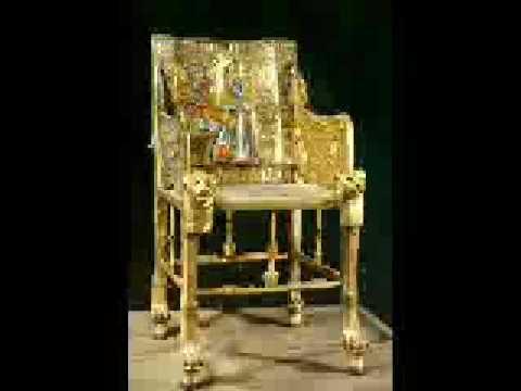 King Tuts Golden Chair