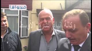 محمد فرج عامر عضو لجنه الشباب بمجلس الشعب يتقدم بالعزاء في وفاة شريف ميخائيل