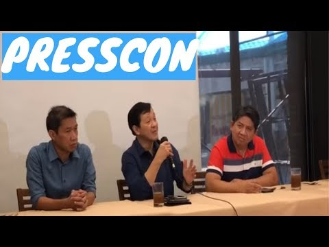 ATTY. LARRY GADON PRESSCON @ Max Restaurant, Circle, Quezon