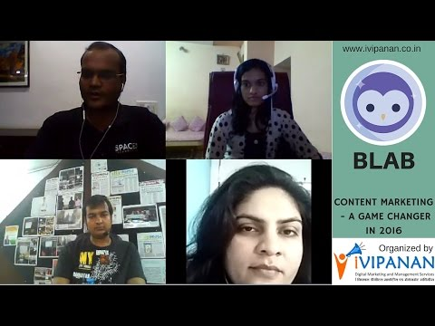 Content Marketing A Game Changer For Digital Marketing in 2016 - Blab by iVIPANAN