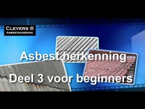 Geliefde Asbest in golfplaten   Asbest herkennen   Slimster OB48