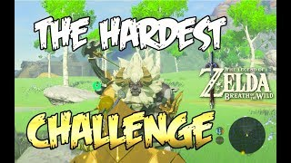 DEFEATING GREAT PLATEAU LYNEL BEFORE ACTIVATING 1ST TOWER Zelda: Breath of the Wild
