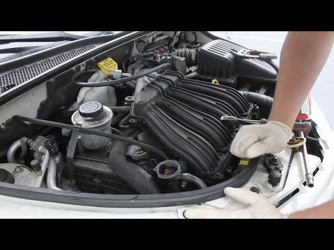 How To Remove Replace Thermostat 01-10 Chrysler PT Cruiser