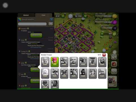 Clash of Clans Infinite Troops Glitch! WORKING